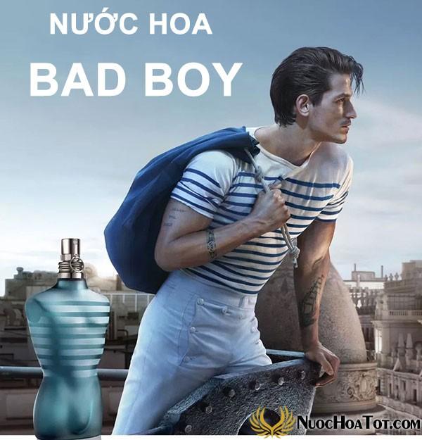 Nước hoa dành cho Bad boy - Những gã trai hư
