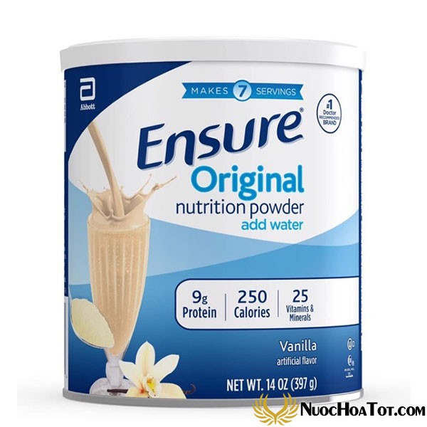 Sữa bột Ensure Original Nutrition Powder 397 gam