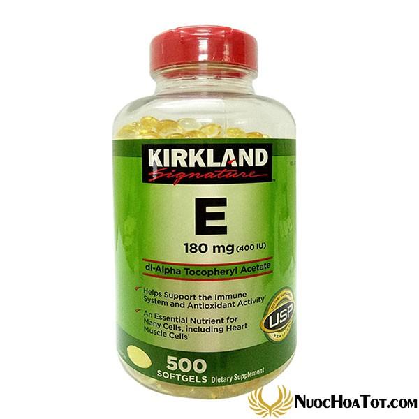 Vitamin E Kirkland Signature 500 viên
