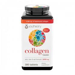 Viên uống Youtheory Collagen + Biotin 390 viên