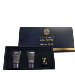 Giftset Versace Pour Femme Dylan Blue 3pcs