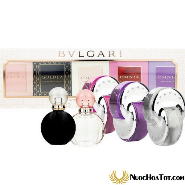 Giftset The Women's Gift Collection Bvlgari mini 5pcs
