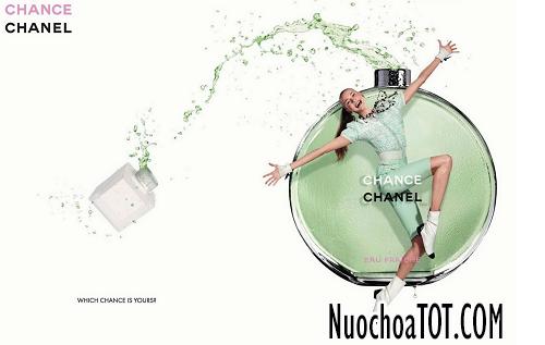 Chanel Chance Eau Fraiche như làn nước làm bạn mát mẻ trong ngày hè