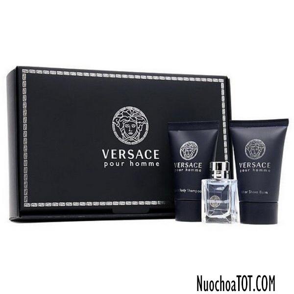 Set Versace Pour Homme mini