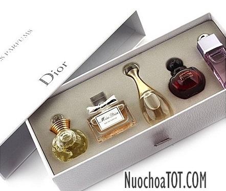 Set nuoc hoa Dior Les Parfums 5 chai chinh hang