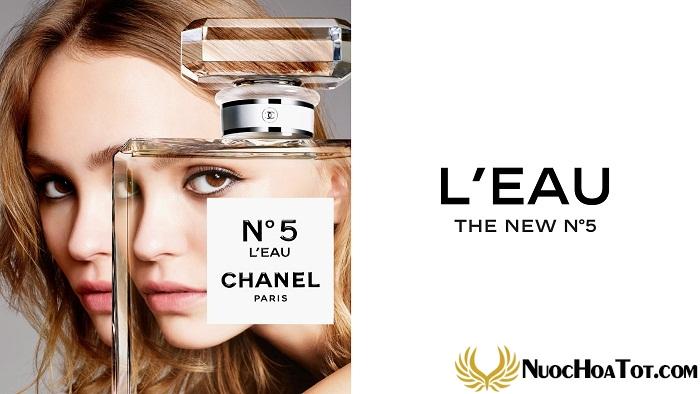 nuoc hoa nu Chanel N°5 L'Eau5