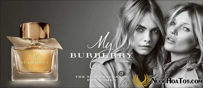 My Burberry chai nước hoa nữ dành cho doanh nhân